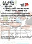 #01 Introduction to Wine Tasting